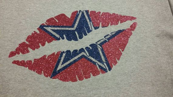 Hey, I found this really awesome Etsy listing at https://www.etsy.com/listing/213452749/dallas-cowboys-kiss