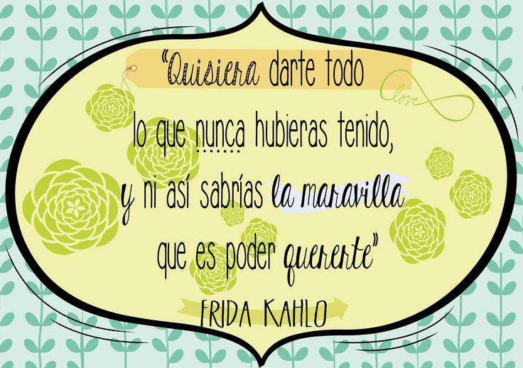 #Frases #Fridakahlo #tipografia.