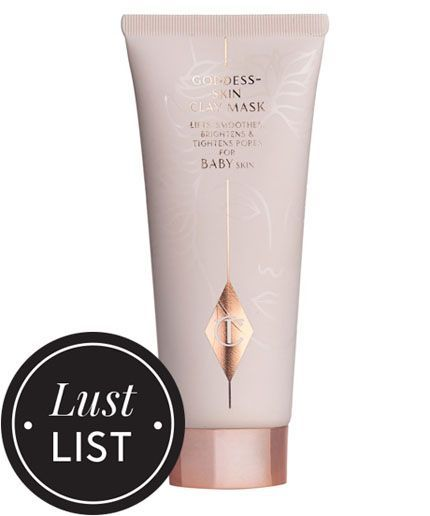 This Clay Mask Is Goddess Skin In A Tube #refinery29  http://www.refinery29.com/charlotte-tilbury-goddess-skin-clay-mask-review