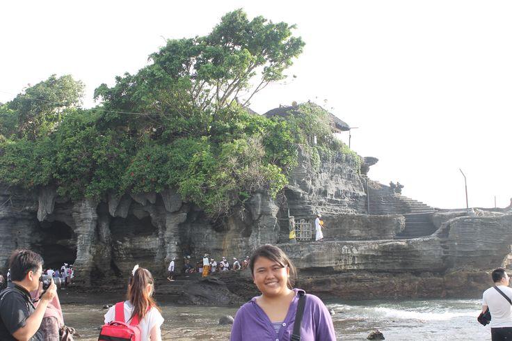 At Tanah lot, Bali, Indonesia :)