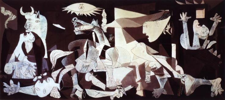 Guernica (cuadro de Picasso) en 3D