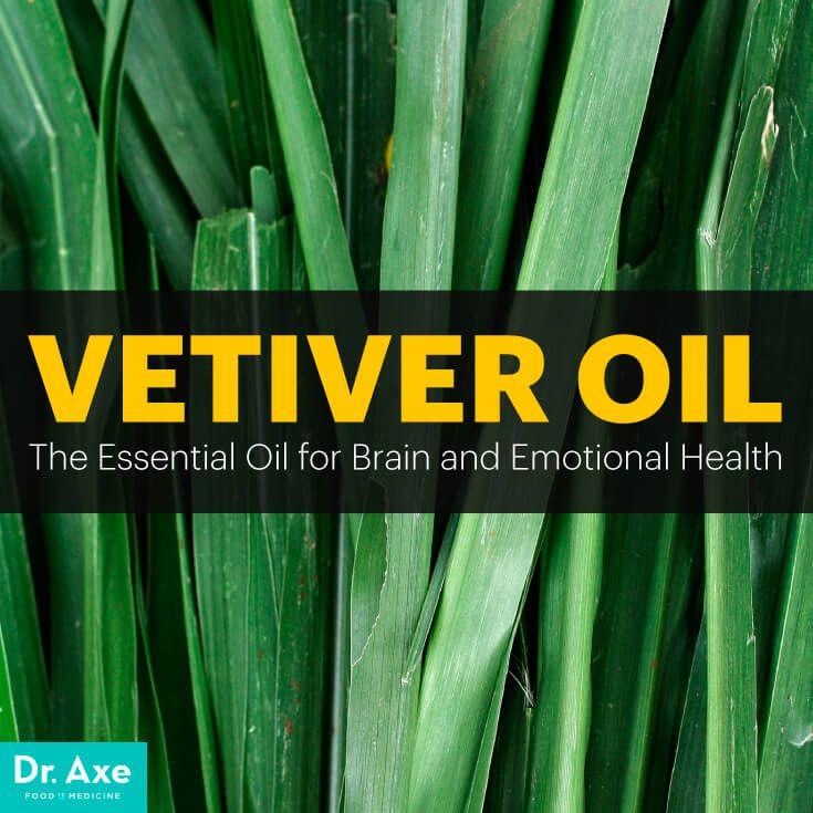 Vetiver oil - Dr. Axe