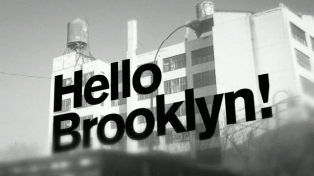 "Jay-Z - ""Hello Brooklyn"" (Marvin Gaye sample). A tribute to New York, Brooklyn and Jay-Z. Music video based on typography and still images of Brooklyn. Production, SFX, animation and edit by Greg Solenström.  Starring: Akzidenz Grotesk & Brooklyn."