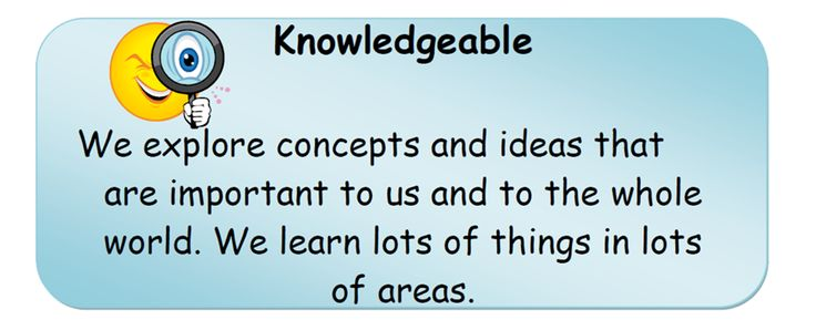 Knowledgeable.
