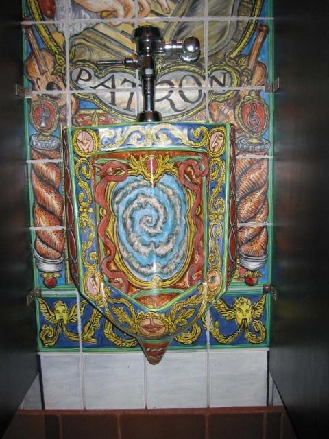 urinal art
