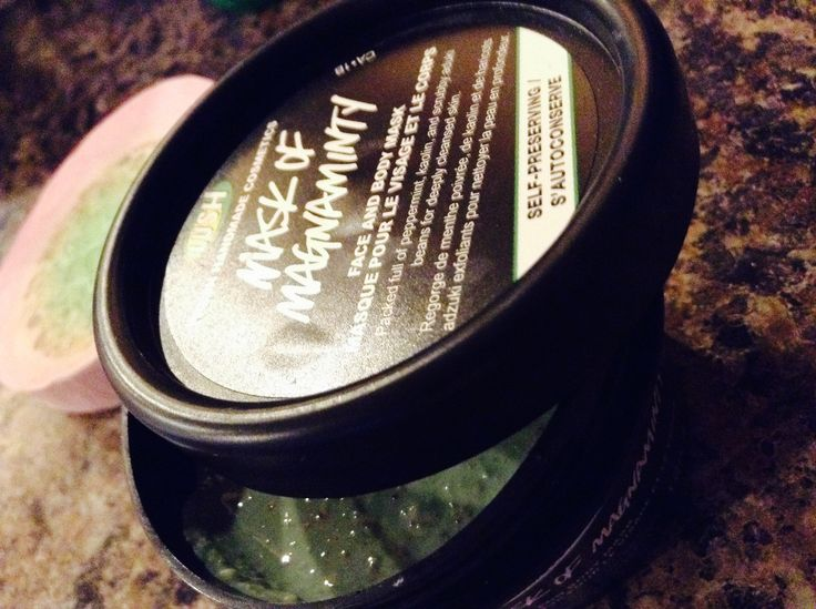 One of the best face masks for acne prone skin-smells like fresh mint!