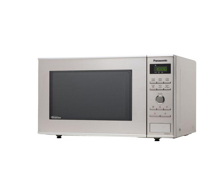 PANASONIC NN-SD271SBPQ Solo Microwave - Stainless Steel (W x H x D): 525 x 310 x 401 mm