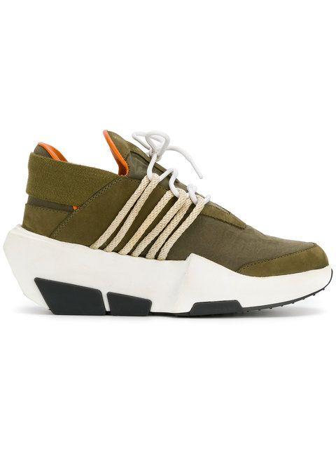 d7b043fe8f84a The Shoe Surgeon Farfetch x The Shoe Surgeon Y3 Mira sneakers