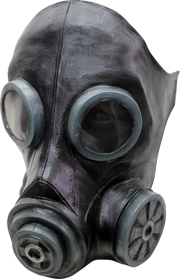 Smoke Mask Black Mask