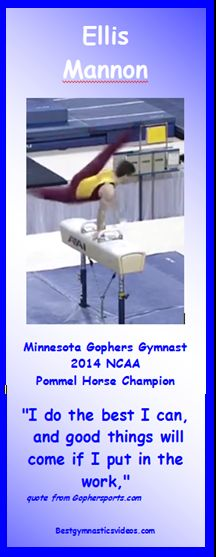 Minnesota's Ellis Mannon Wins Spot as a P&G Championships Competitor.  Click for video.