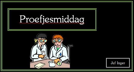 Proefjesmiddag - Juf Inger