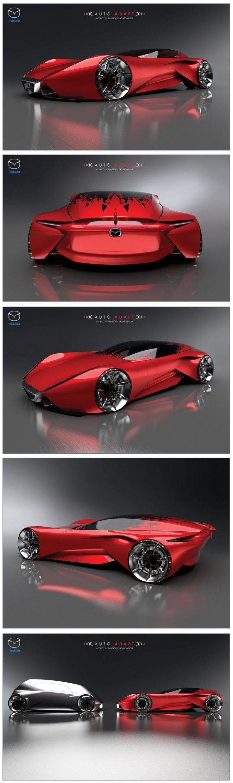 Likely cars of the future likely cars of the future http www - Mazda Auto Adapt Concept Http Www Carbodydesign Com 2013
