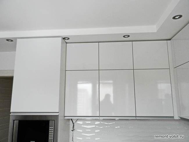 Белая глянцевая кухня 8,3 кв.м за 6200$ (10 фото после ...