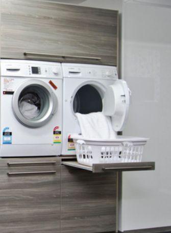 uitschuifbare lade voor wasmachine!