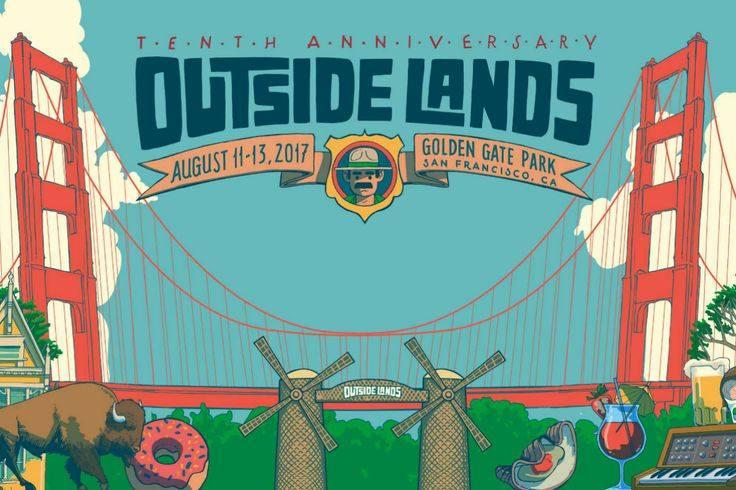 Gorillaz, Lorde, Metallica, A Tribe Called Quest to Headline Outside Lands 2017