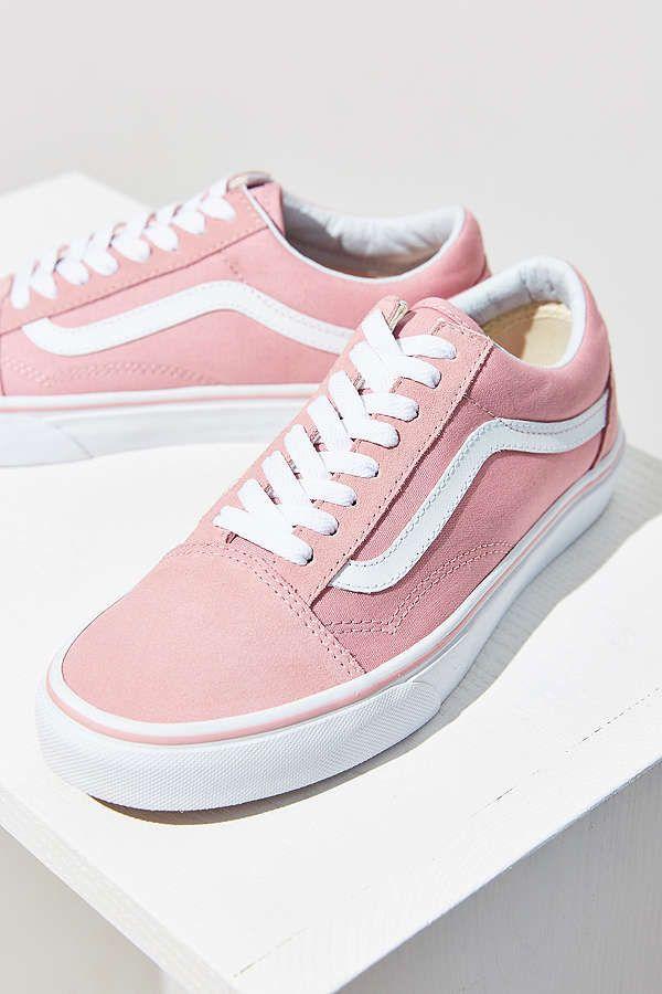 Slide View: 2: Vans Pink Old Skool Sneaker