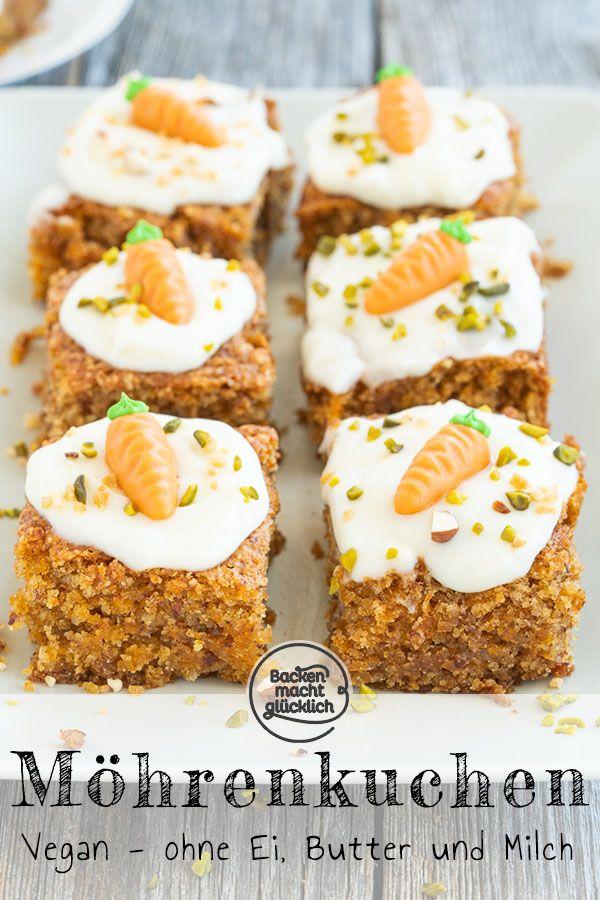 Veganer Karottenkuchen Rezept Mohrenkuchen Mohren Kuchen Und Lebensmittel Essen