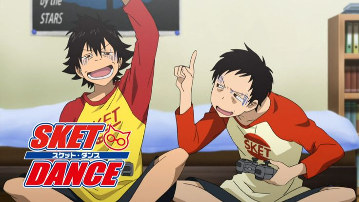 SKET Dance ~ Older twin, Fugisaki Yusuke and younger twin, Tsubaki Sasuke staying up playing video games!