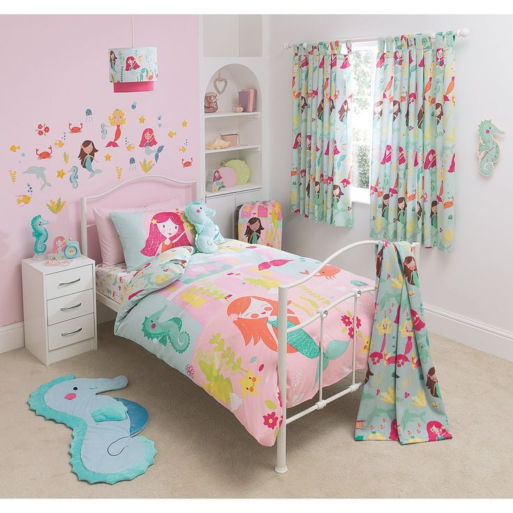 Buy George Home Mermaid Bedroom Set From Our Bedding Range Today From Asda Direct Nursery