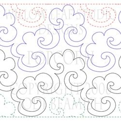 The original and much loved Popcorn design for machine quilting. Find it today at www.willowleafstudio.com