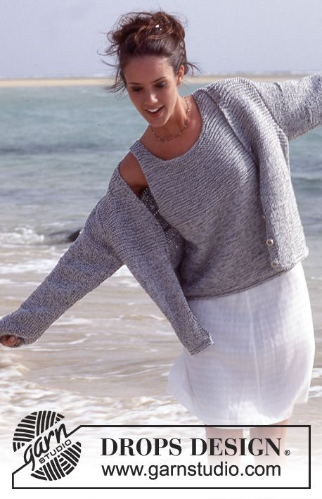 DROPS 64-5 Cardigan & Top Knit Pattern                                                                                                                                                      More