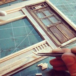 making of Grandmondo Miniatures