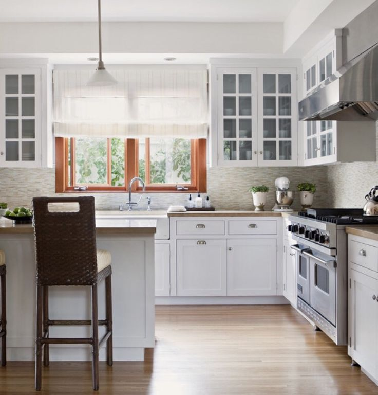 Our kitchen will be shaped like this! With a fridge and ...