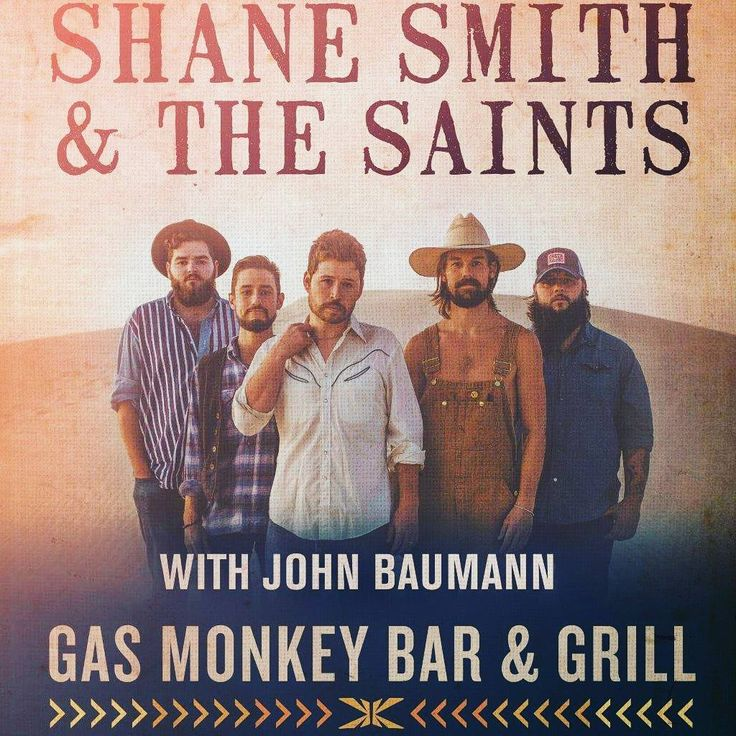 It's not too late to get your tickets for Shane Smith & The Saints tonight at GMBG! Check our site for details! Let's kick off 4th of July weekend right!