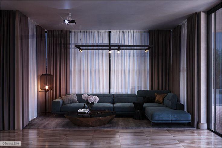 Karelia_1010 on Behance Стили для гостиных комнат, Дом