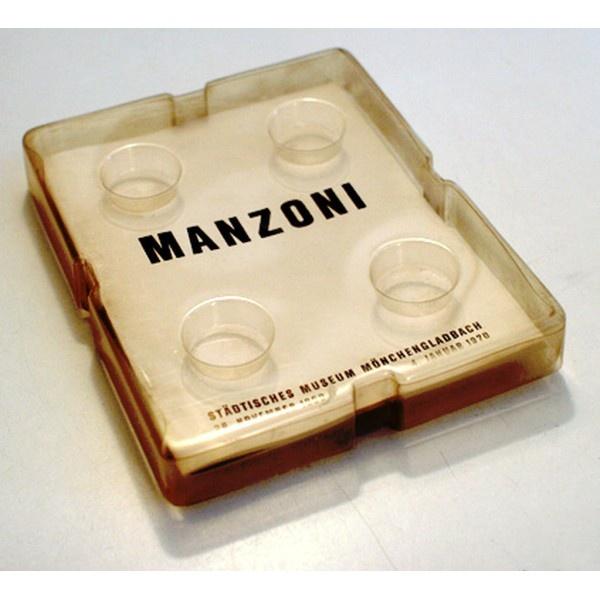 Manzoni, Piero  MANZONI  Städtisches Museum Mönchengladbach, 26. November 1969 - 4. Januar 1970 Nr. 128 von 440 - almost gone