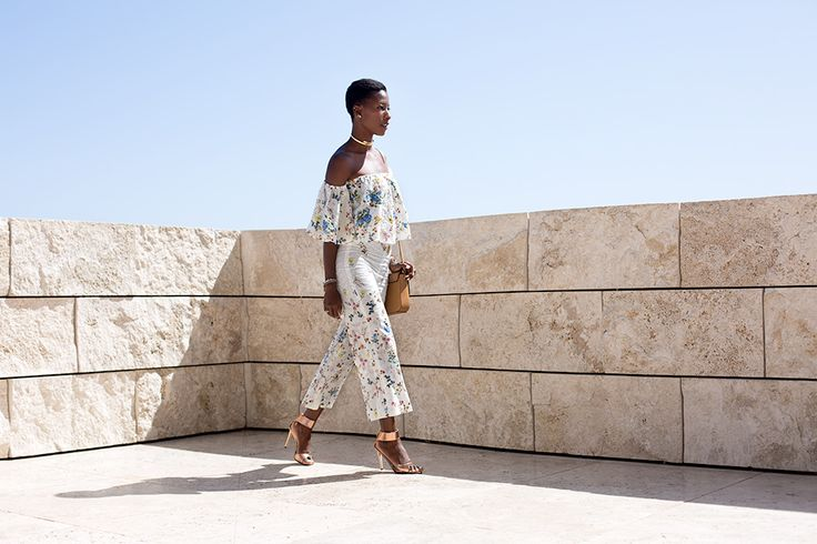 Off The shoulder At The Getty