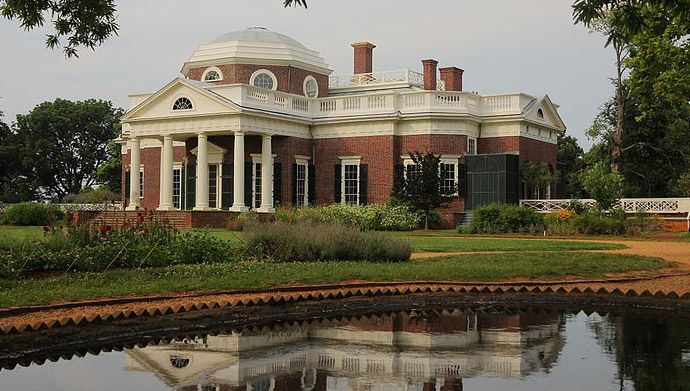Founding Father. Principal Author of the Declaration of Independence. Farmer. Author. Scholar. Third President of the United States.  As if these titles were not enough, Thomas Jefferson also can add owner of one of the most famous homes in the country to his list of accomplishments.