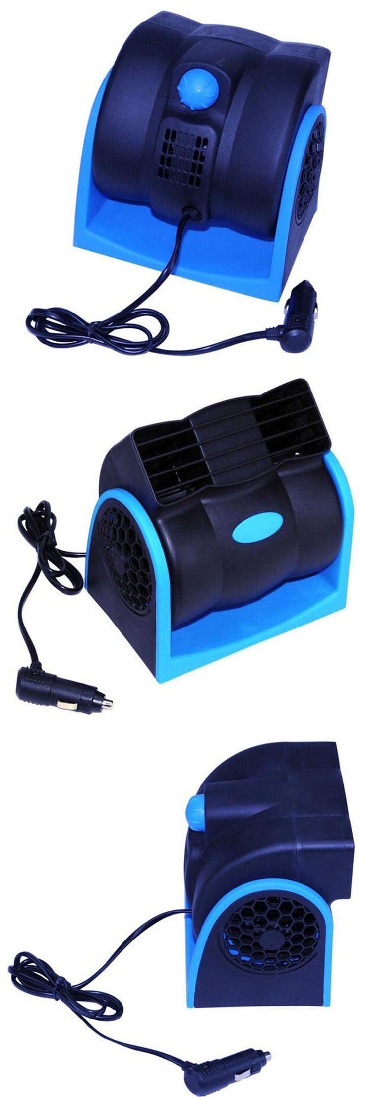 [Visit to Buy] Portable Car Vehicle Truck Cooling Air Fan 12V Adjustable Low Noise Silent Cooler Fan 2 Speeds Air Conditioner for car/ SUV/ATV #Advertisement