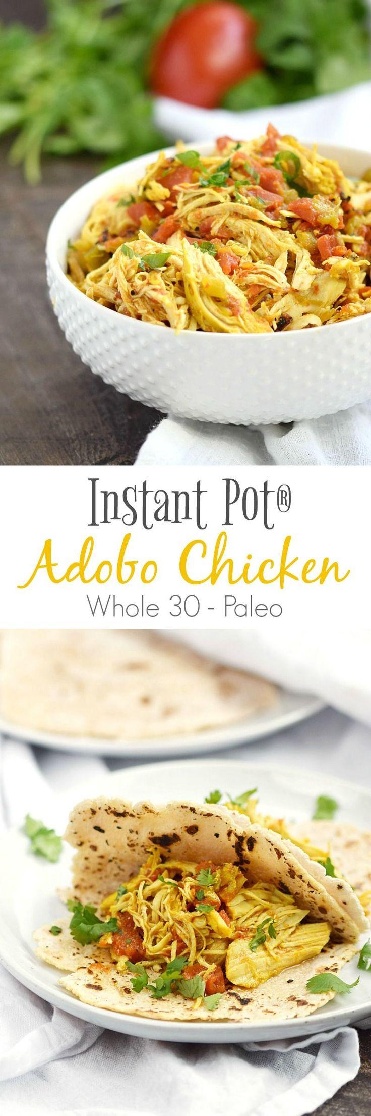 Instant Pot Adobo Chicken