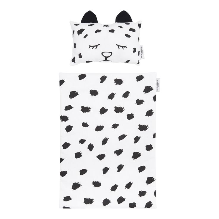 Willie and Millie Leopard Doll Bedding | Scandi Mini