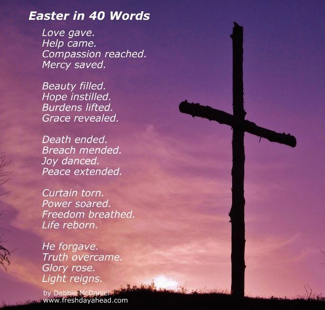 A Prayer for Resurrection Day and 25 Scriptures to Remind Us – He Has Risen! - Easter in 40 Words