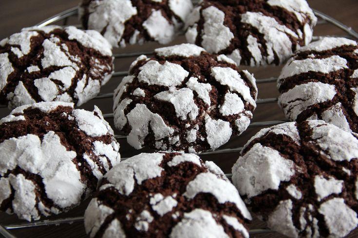 Čokoládové+crinkles+sušenky