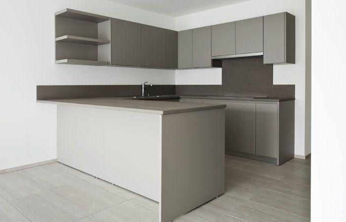 Kleine keuken appartement