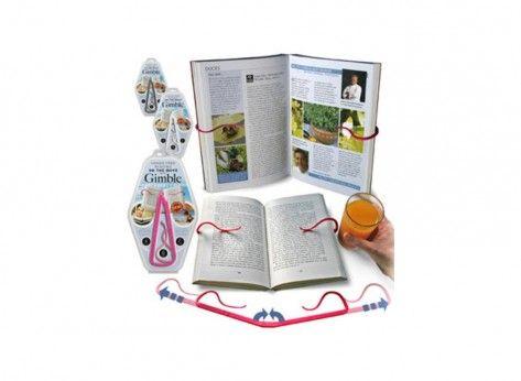 Gimble Traveler - Mindblower Gimble Traveler este suportul care iti permite sa pastrezi cartea intacta si sa te bucuri de lectura chiar si atunci cand ai mainile ocupate. Multe alte cadouri inedite, pe Mindblower.ro