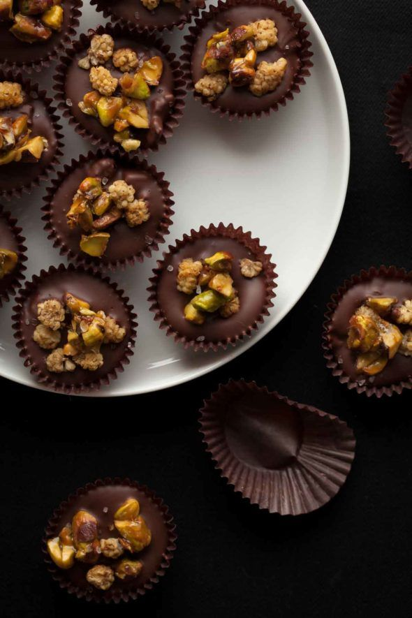 30 gluten-free, grain-free and paleo chocolate desserts; so you can eat nothing but chocolate for the holidays.