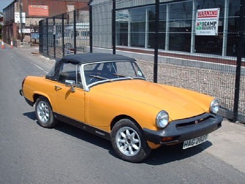 Float height adjustment mg midget