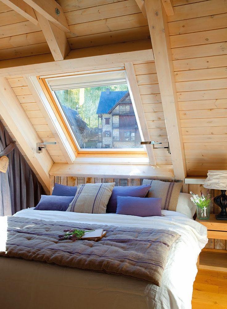 Jurnal de design interior - Amenajări interioare : O frumoasă cabană în Val d'Aran, Spania