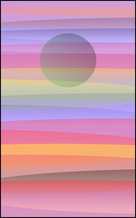 Digital download art, abstract painting, digital backdrop,  meditation art, printable art, landscape,  graphics collage :  Ripples 181015
