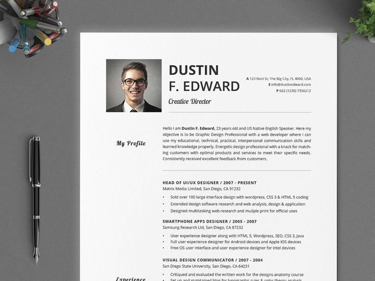 67 best CV images on Pinterest Plants, Resume cv and Creative - my personal resume