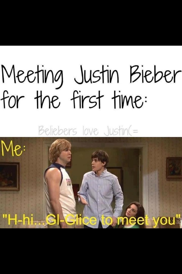 Lol..only beliebers get this