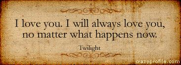 Twilight quote