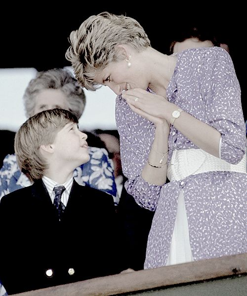 I still miss her, she was such a light in everyone's lives. – Prince William