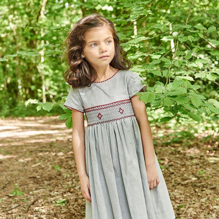Solana Girl Smock Dress