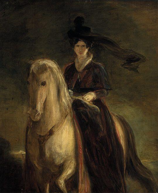 ca. 1833 Queen Adelaide by Sir David Wilkie (National Galleries of Scotland, Edinburgh)
