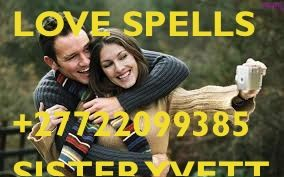 Do you want to cast a spell on an ex-lover so that he comes back with you? You need your boyfriend or girlfriend to love you even more than today? You want to make someone love you? All these requests will most probably find a positive answer with one of my best love spells. For now, all you need is to give me details about your case so that I can evaluate the possibilities and success rate of a spell I'd cast for you.+27722099385